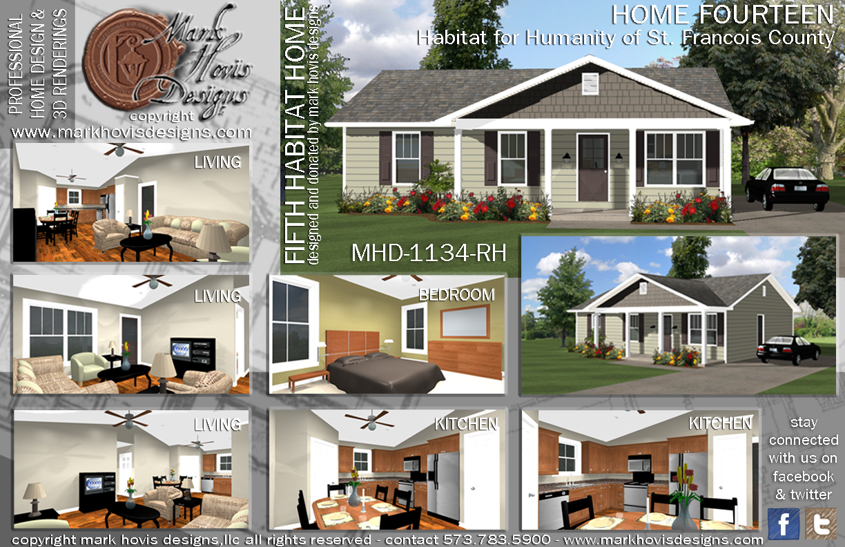 Habitat For Humanity House Plans | Fifth Home Design For Habitat For Humanity Mark Hovis Designs Mark